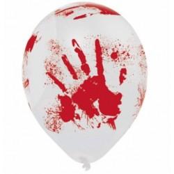 Halloween balonky KREV 6ks