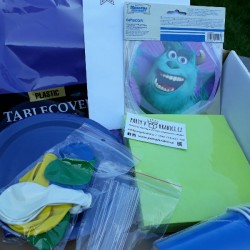 MONSTERS Inc. PARTY KIT