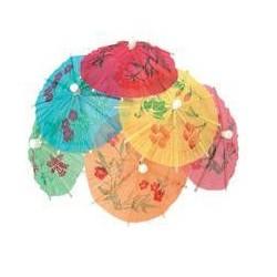 Deštníčky z papíru