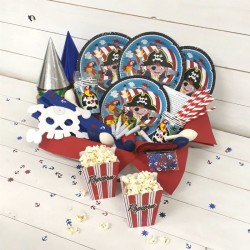 LITTLE PIRATE PARTY KIT PLUS