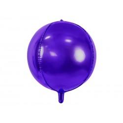 Purple BALL foil balloon, 40cm