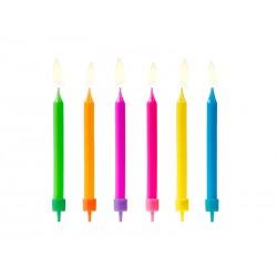 Candles 6pcs MIX